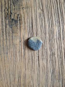 heartshaped rock inside